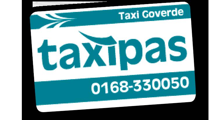 taxi huren met 30% korting en betalen achteraf doe je met de taxipas