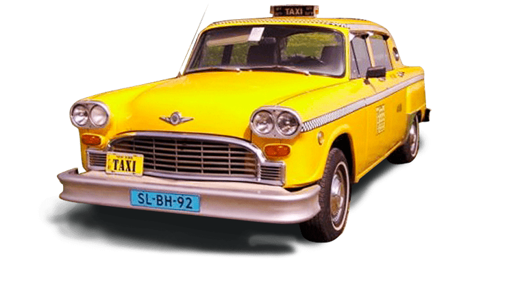 Yellow-cab new york taxi