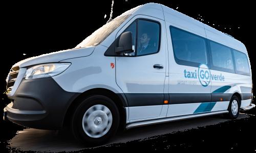 Taxi bus nieuw