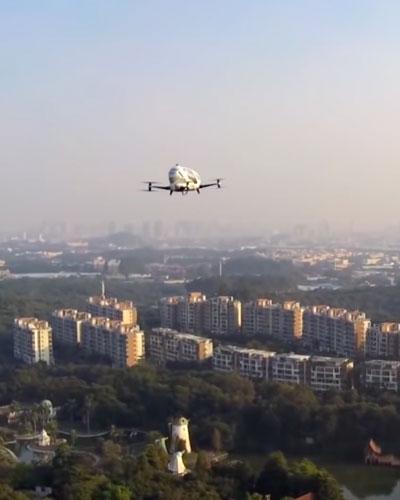 bemande taxi drone