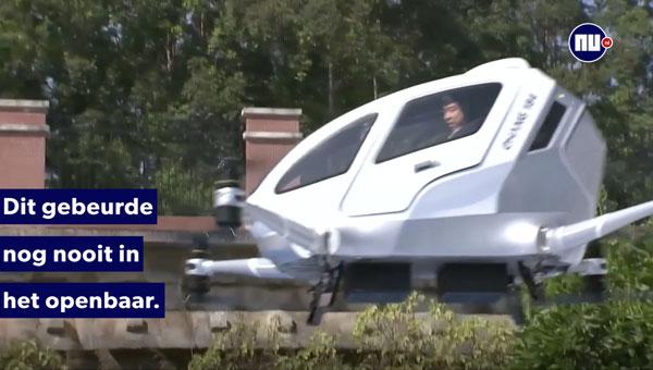 taxi drone nieuws