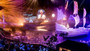 Show met artiesten in Ahoy