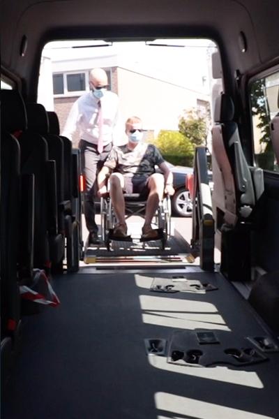 corona rolstoelvervoer veilig